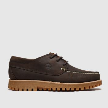 Timberland Brown Jacksons Landing Moc Toe Shoes