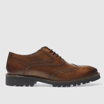 Ikon Tan Duster Oxford Mens Shoes