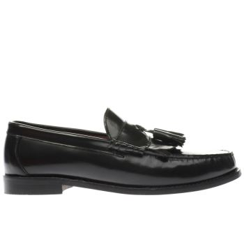 IKON BLACK BEL AIR LOAFER SHOES