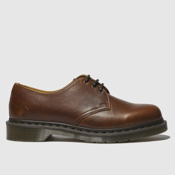 Dr Martens Brown 1461 Shoe Mens Shoes