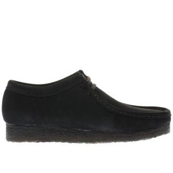 3612ce957ffe mens black clarks originals wallabee shoes   schuh
