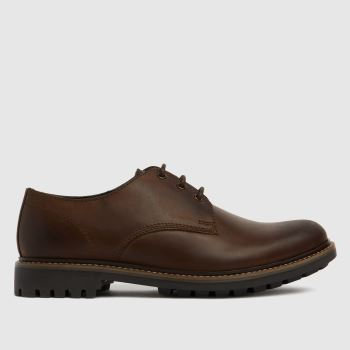 schuh Brown Pax Derby Mens Shoes