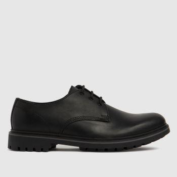 schuh Black Pax Derby Mens Shoes