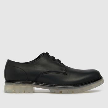 schuh Black Reece Ice Derby Mens Shoes