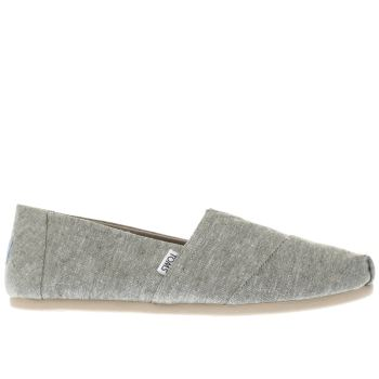 TOMS GREEN SEASONAL CLASSIC SHOES