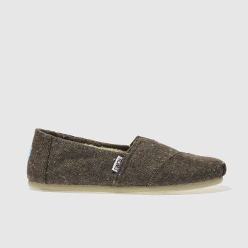 Toms Brown Seasonal Classic Mens Shoes
