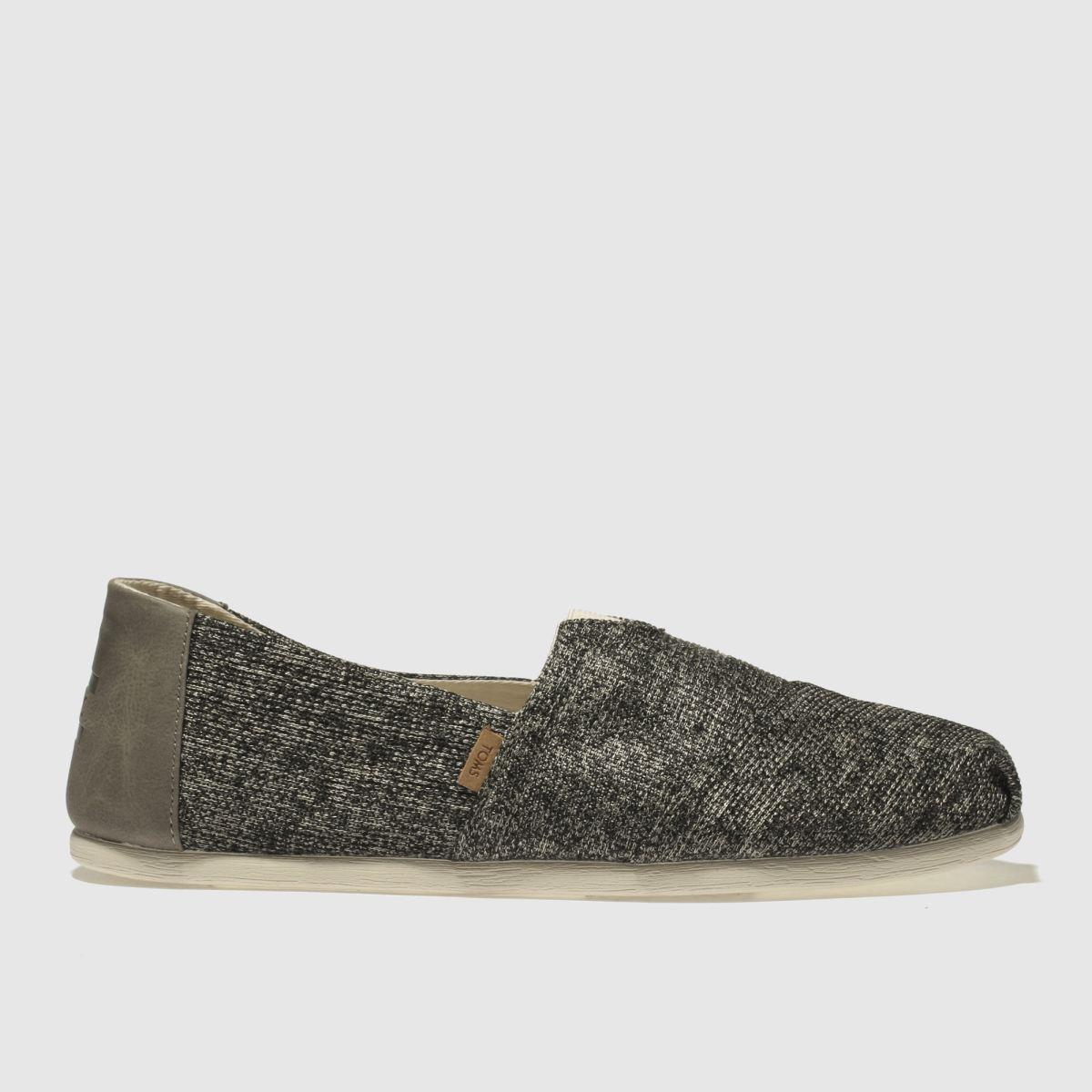 Toms Grey Alpargata Shoes