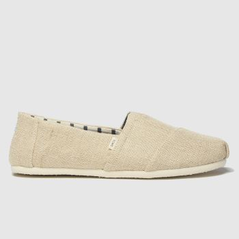 TOMS Natural Alpargata Venice Mens Shoes
