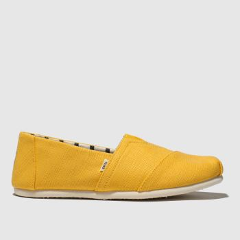 Toms Yellow Alpargata Venice Mens Shoes