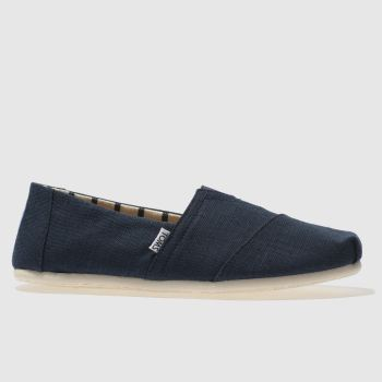 TOMS Blue Alpargata Venice Mens Shoes