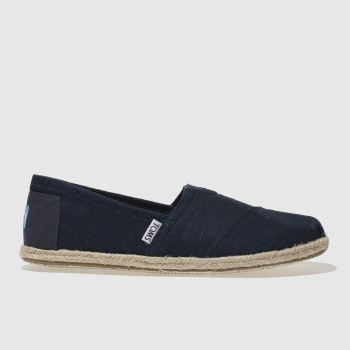 Toms Navy Classic Ii Mens Shoes