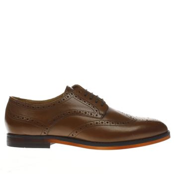 H BY HUDSON TAN TALBOT SHOES