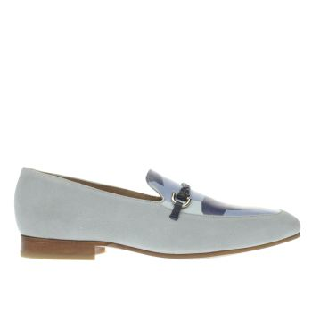 MOMENTUM NAVY & PL BLUE BOMBAY LOAFER SHOES