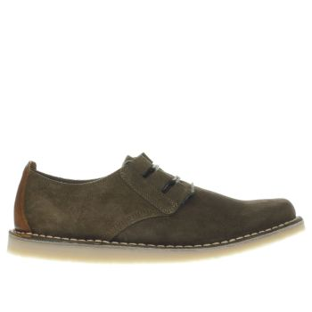 RED OR DEAD KHAKI MR BRIGGS GHILLI SHOES