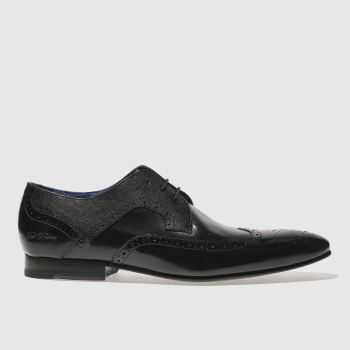 Ted Baker Black Oakke Mens Shoes