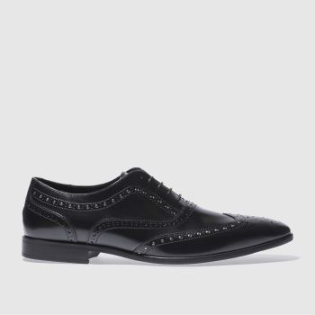 Red Or Dead Black Mr Mcavoy Brogue Mens Shoes
