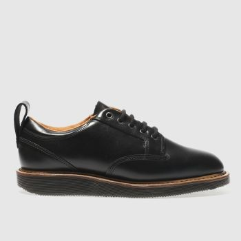 Dr Martens Black Neema 5 Eye Mens Shoes