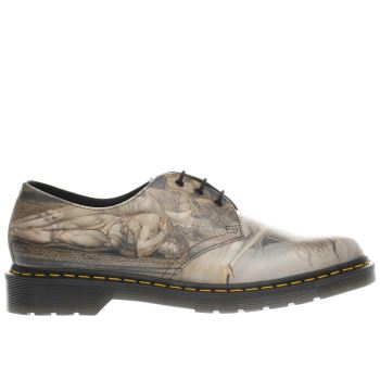 DR MARTENS MULTI 1461 WILLIAM BLAKE SHOES