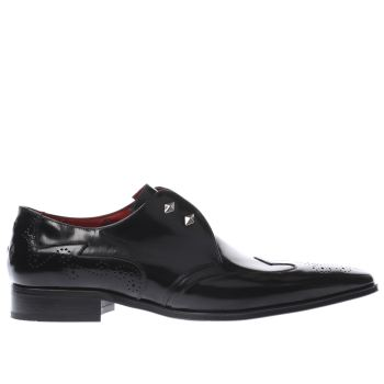 Jeffery West Black Escobar Diamond Ghill Mens Shoes