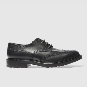 RED OR DEAD DARK GREY MR CROOKS BROGUE SHOES