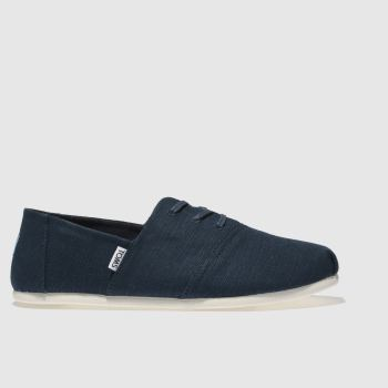 Toms Navy Hermosa Mens Shoes