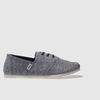 Toms Navy & White Hermosa Mens Shoes