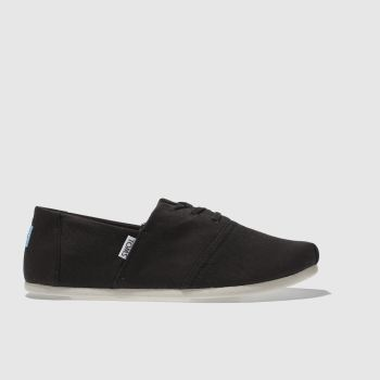 Toms Black Hermosa Mens Shoes