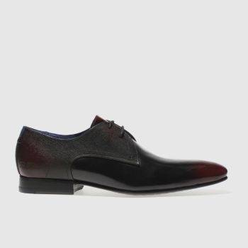 083222341020 Ted Baker Burgundy Peair Mens Shoes
