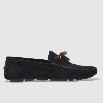 Ted Baker Navy Urbonns Mens Shoes