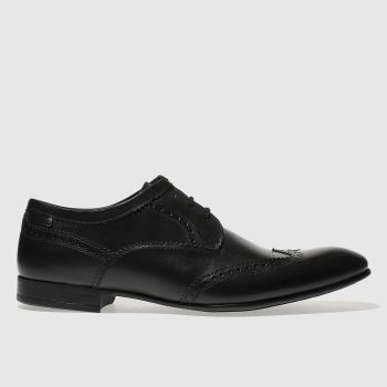 Base London Black Purcell Mens Shoes