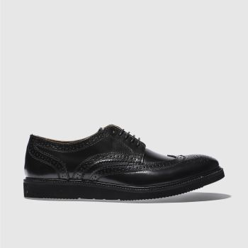 Base London Black Orion Mens Shoes