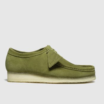 Clarks Originals Khaki Wallabee Mens Shoes