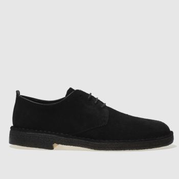 Clarks Originals Black Desert London Mens Shoes