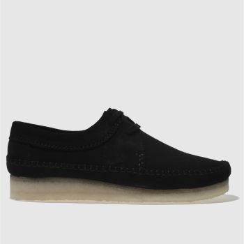 Clarks Originals Black Weaver Mens Shoes