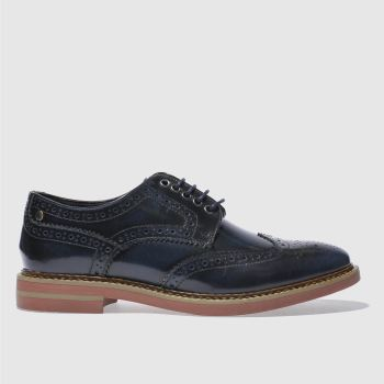 Base London Navy Rothko Mens Shoes