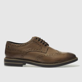 Base London tan rothko shoes