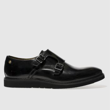 Base London Black Nova Mens Shoes