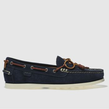 Polo Ralph Lauren Navy Millard Mens Shoes