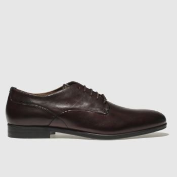 H By Hudson Burgundy Axminster Mens Shoes