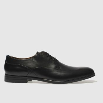 H By Hudson Black Axminster Mens Shoes
