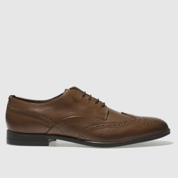 H By Hudson Tan Aylesbury Mens Shoes