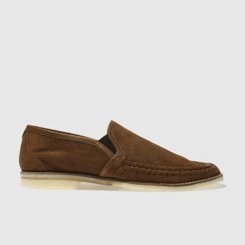 H By Hudson Tan Alderburgh Mens Shoes
