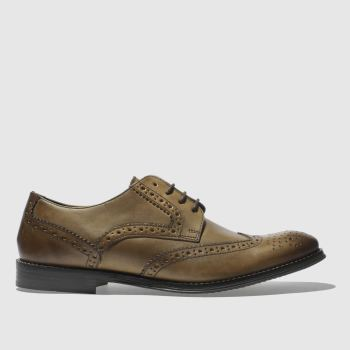 Ikon Tan Poster Brogue Iii Mens Shoes