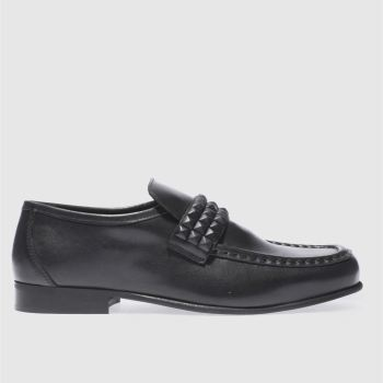 Schuh Black Argent Stud Mens Shoes