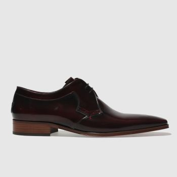Jeffery West Burgundy Escobar Gibson Mens Shoes