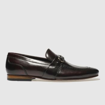 Ted Baker Burgundy Daiser Mens Shoes