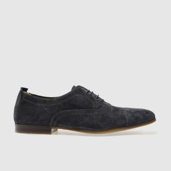 RED OR DEAD NAVY MR GYLES SLIP ON OX SHOES