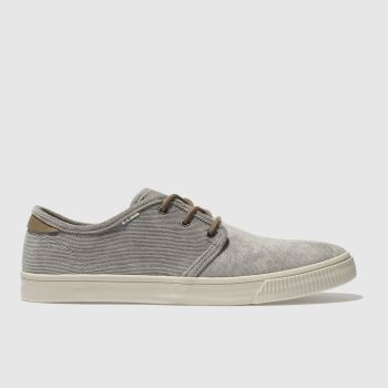 Toms Light Grey Carlo Mens Shoes