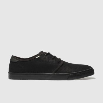 Toms Black Carlo Mens Shoes