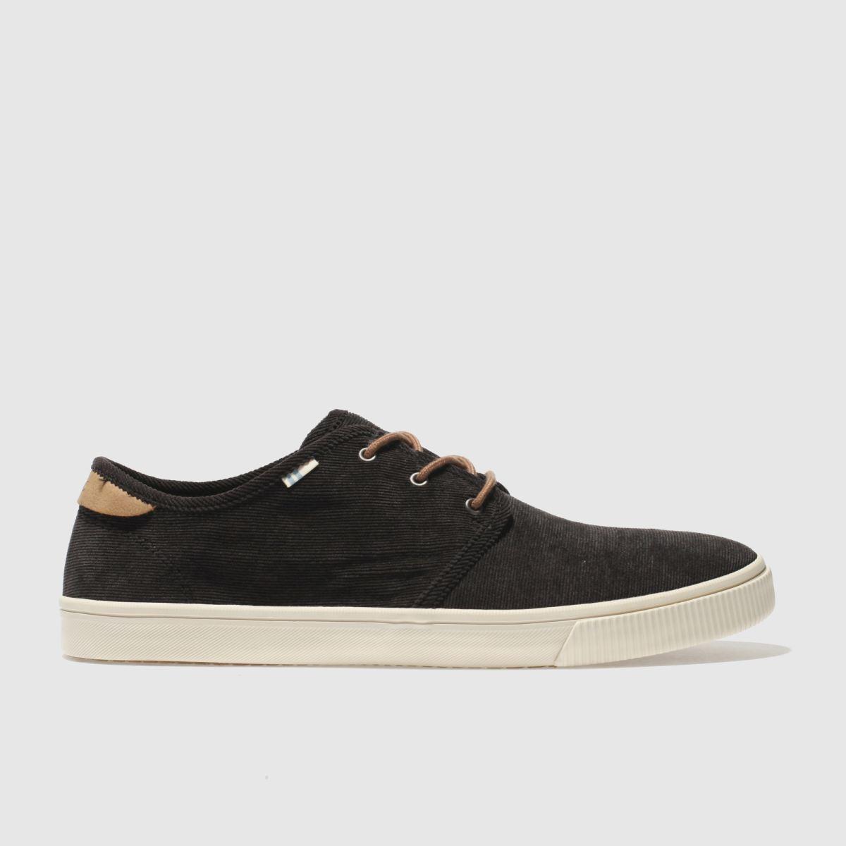 b49d995ce33 Toms Black   Brown Carlo Shoes
